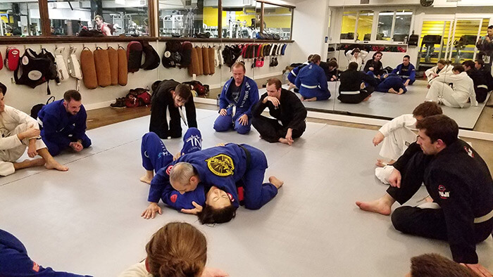 Brazillian Jiu Jitsu Classes at our East Vancouver Gym