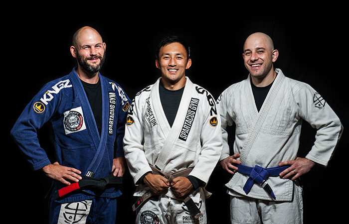 Brazillian Jiu Jitsu Class Instructors at our Vancouver Gym