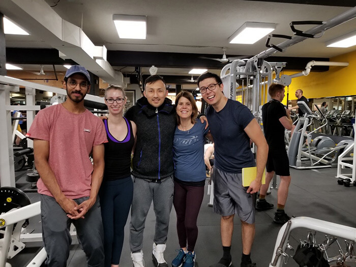 Friendly Staff at our East Vancouver Gym